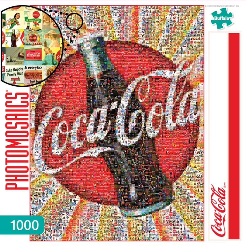 Coca-Cola Food and Drink Jigsaw Puzzle
