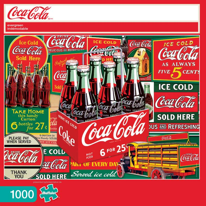 Evergreen (Coca-Cola) Graphics / Illustration Jigsaw Puzzle