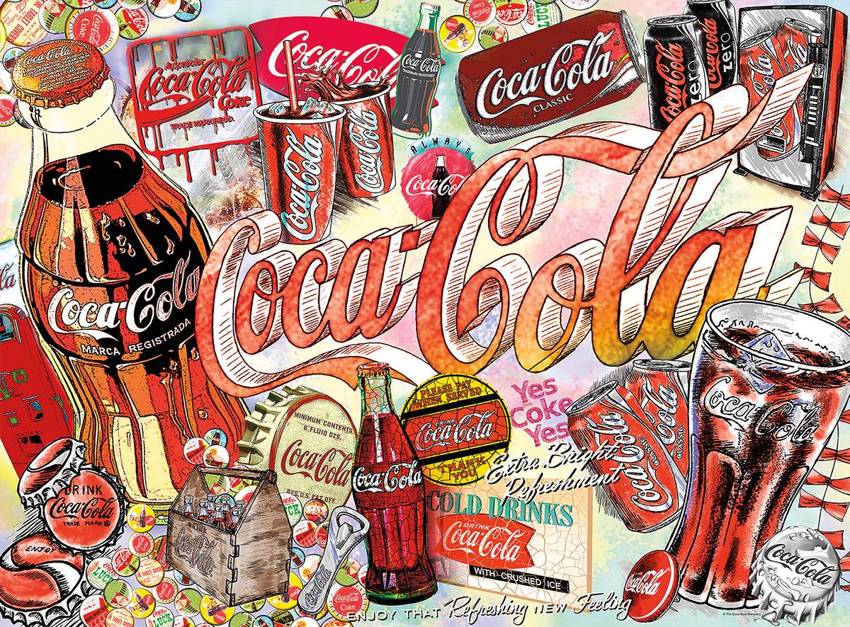 Enjoy Coca-Cola Nostalgic / Retro Jigsaw Puzzle