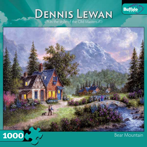Bear Mountain Countryside Jigsaw Puzzle