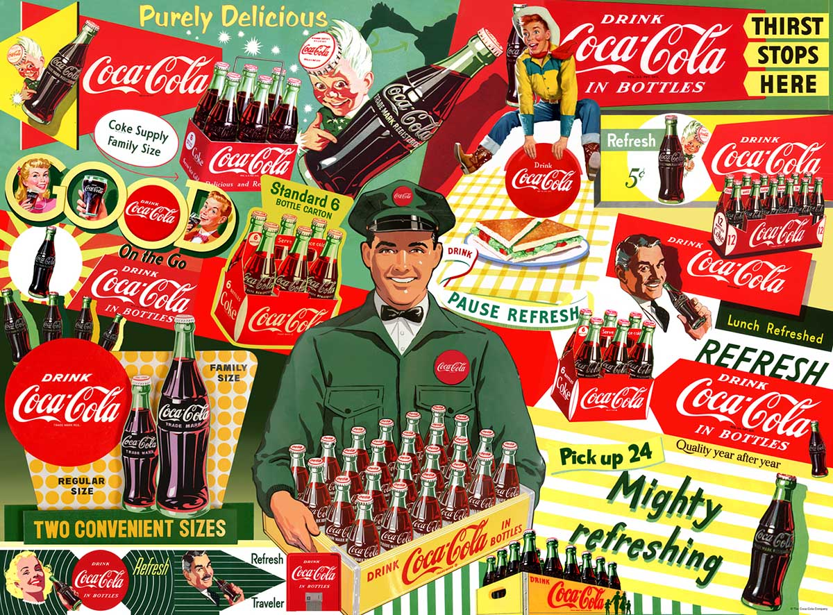 50's Special Delivery Food and Drink Jigsaw Puzzle