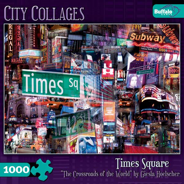 Times Square Collage Jigsaw Puzzle