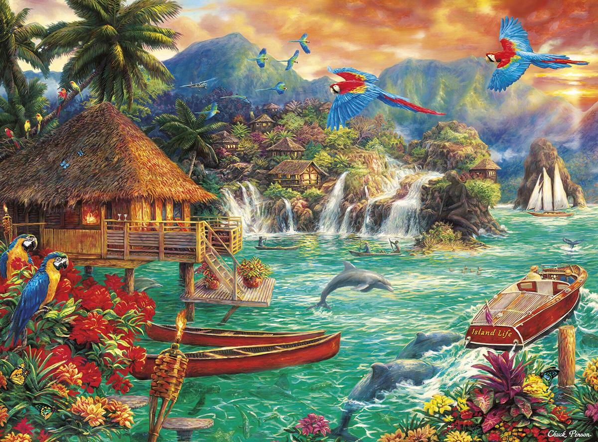 Island Life Seascape / Coastal Living Hidden Images