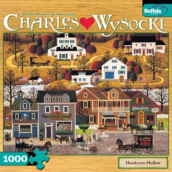 Charles Wysocki - Hawkriver Hallow Jigsaw Puzzle