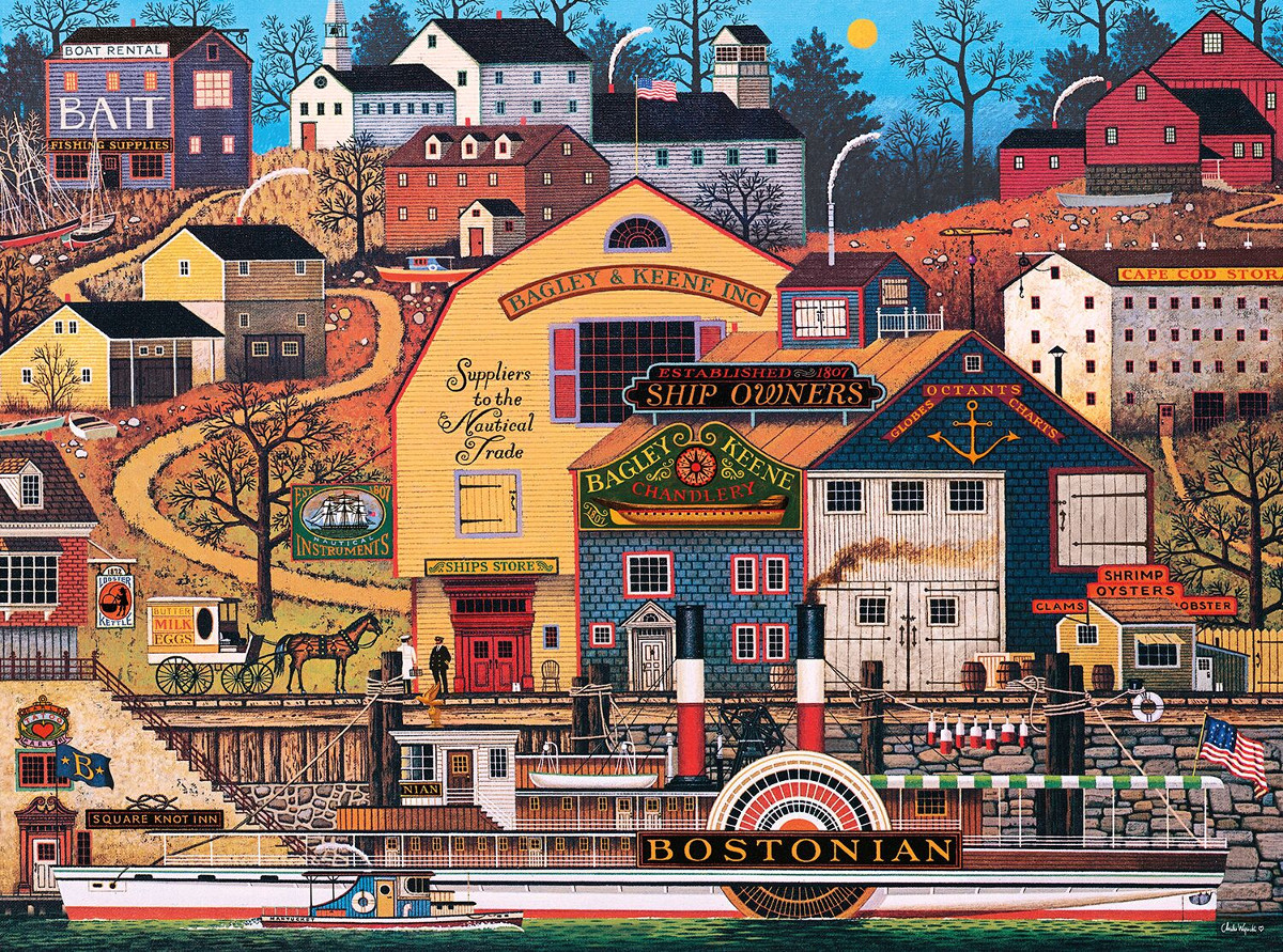 The Bostonian Boats Jigsaw Puzzle
