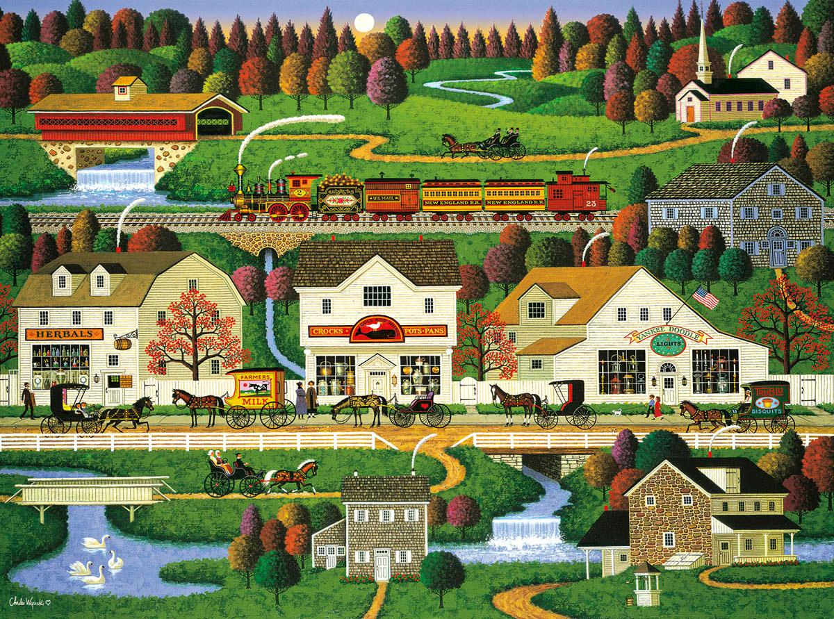 Yankee Wink Hollow Wildlife Jigsaw Puzzle