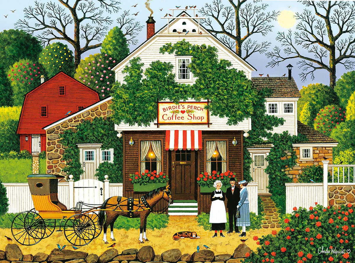 Small Talk Spring Jigsaw Puzzle