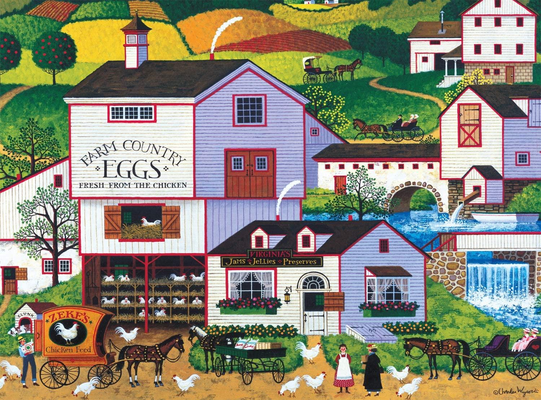 Virginias Nest Farm Jigsaw Puzzle