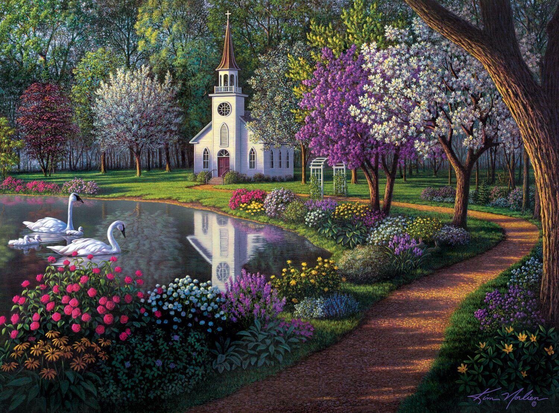 Sanctuary Spring Jigsaw Puzzle
