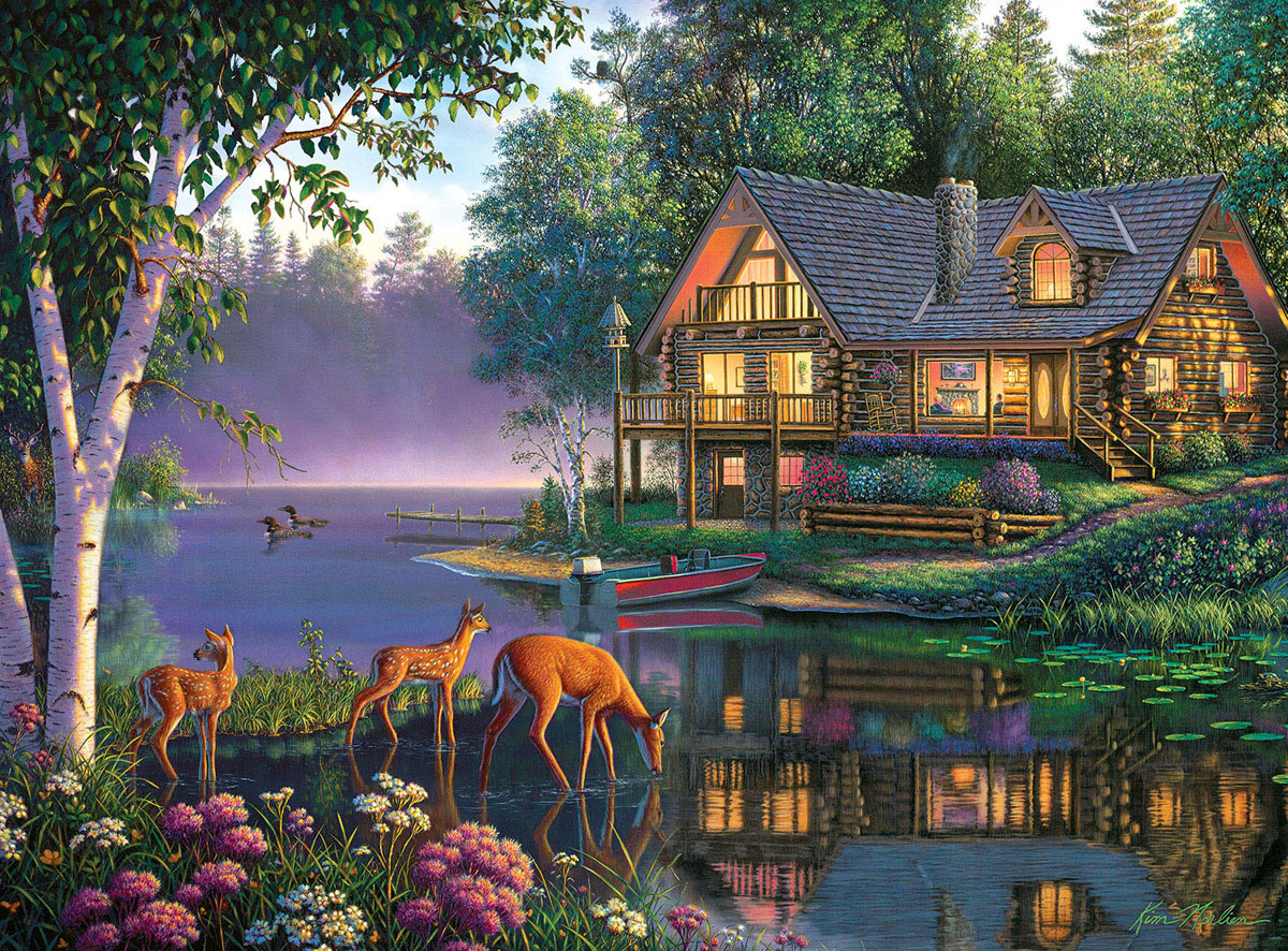 Sweet Serenity Wildlife Jigsaw Puzzle