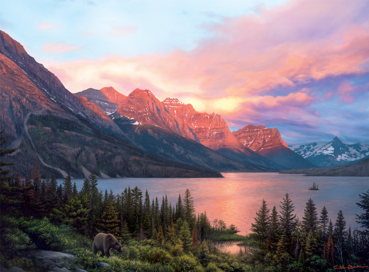 A Lasting Impact Dupe Mountains Jigsaw Puzzle