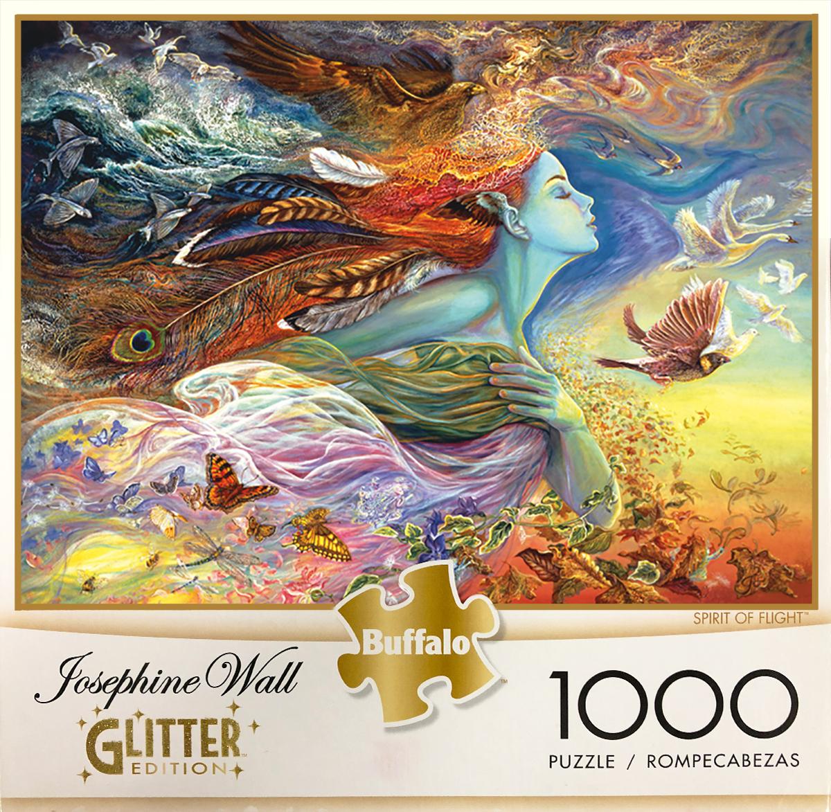 Spirit of Flight Birds Glitter / Shimmer / Foil Puzzles