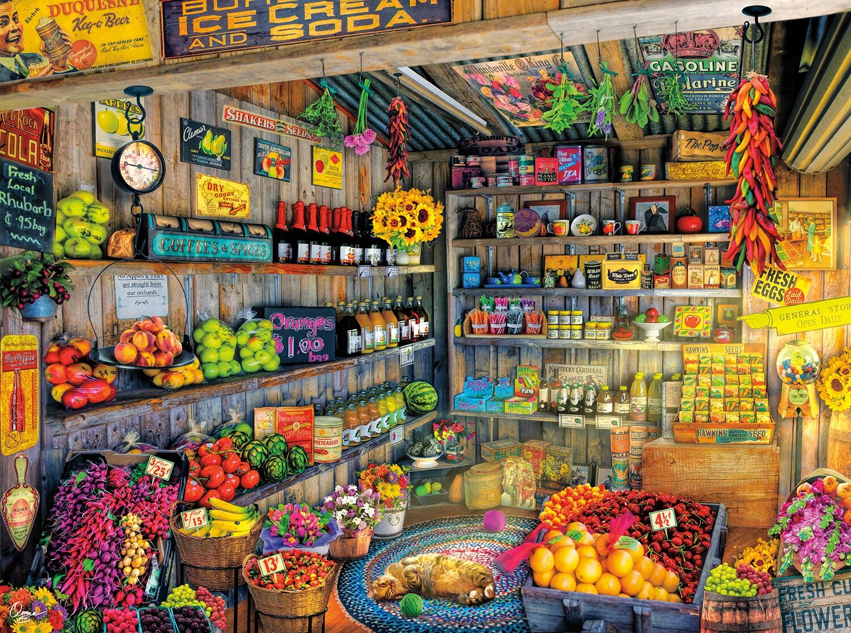 Farm Fresh Nostalgic / Retro Jigsaw Puzzle