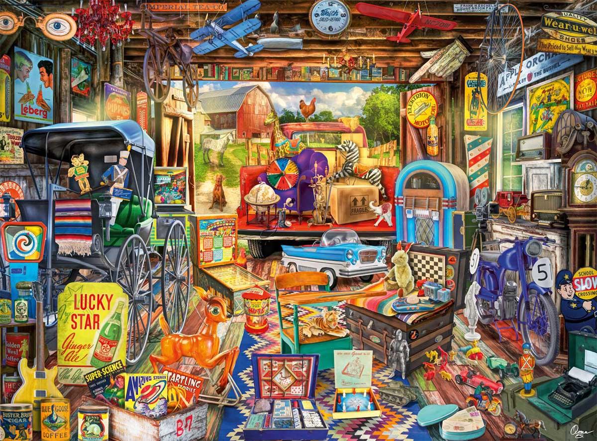 Picker's Haul Nostalgic / Retro Jigsaw Puzzle
