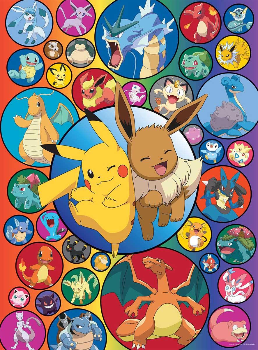 Pokemon Bubbles Video Game Jigsaw Puzzle