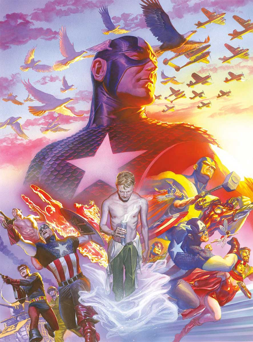 Captain America #22 Super-heroes Jigsaw Puzzle