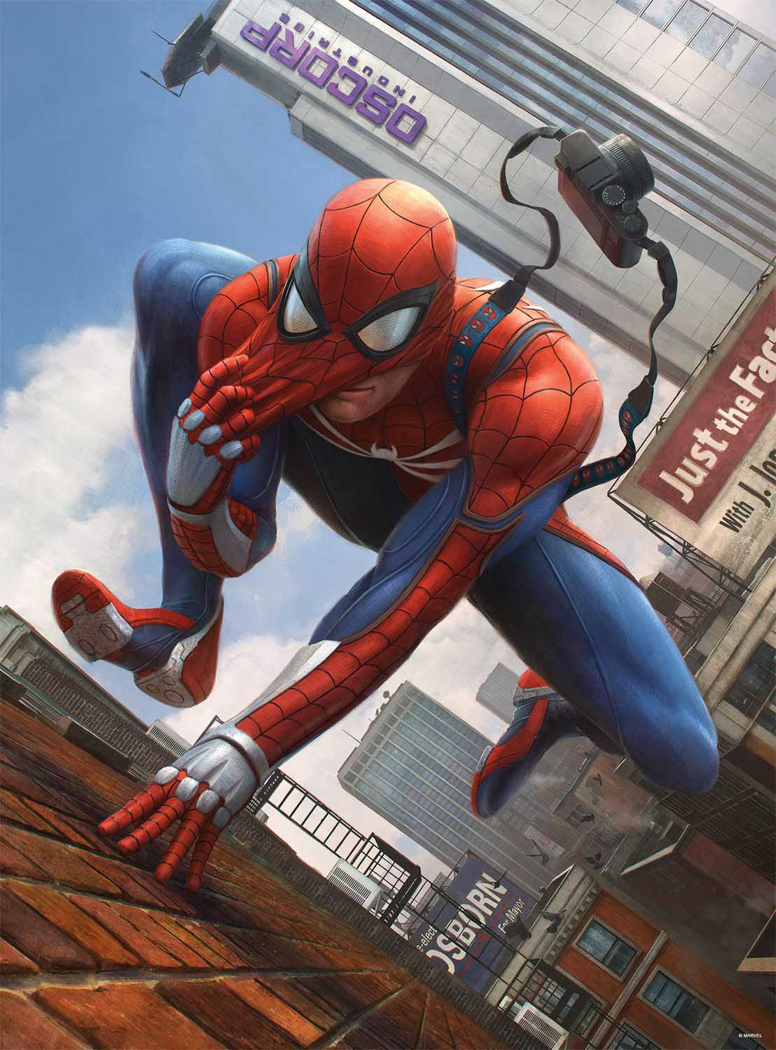 Amazing Spider Man 1 Variant Super-heroes Jigsaw Puzzle