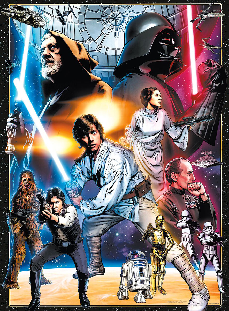 Star Wars™ : The Circle is Now Complete Disney Jigsaw Puzzle