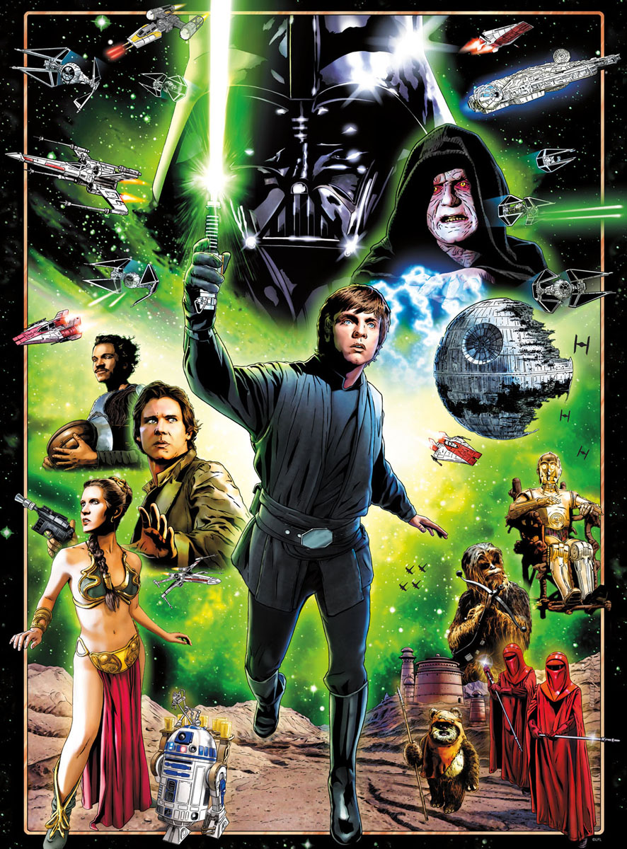 I Am A Jedi, Like My Father Before Me Movies / Books / TV Jigsaw Puzzle