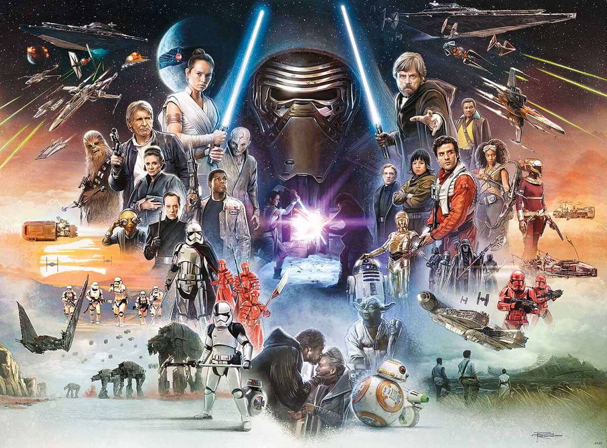 If Skywalker Returns, The New Jedi Will Rise Star Wars Jigsaw Puzzle