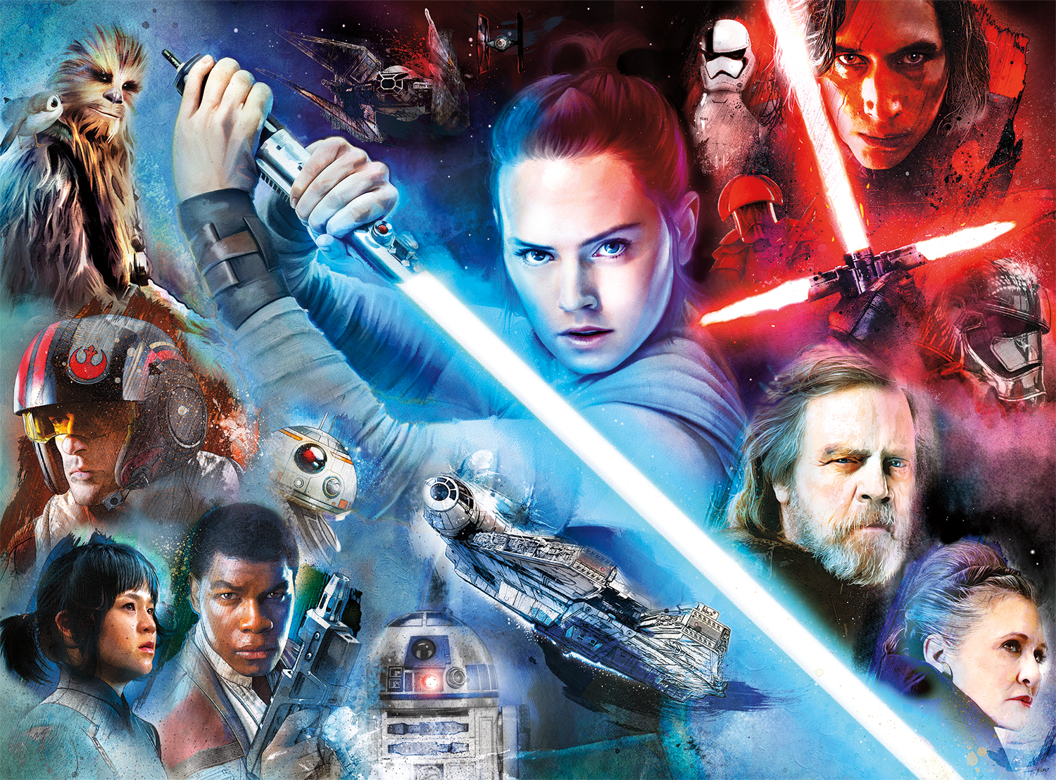"""Star Wars™ """"Feel The Force"""" Star Wars Jigsaw Puzzle"""