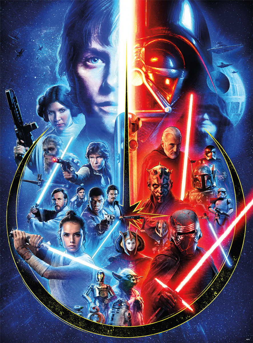 Celebrating The Skywalker Saga Movies / Books / TV Jigsaw Puzzle
