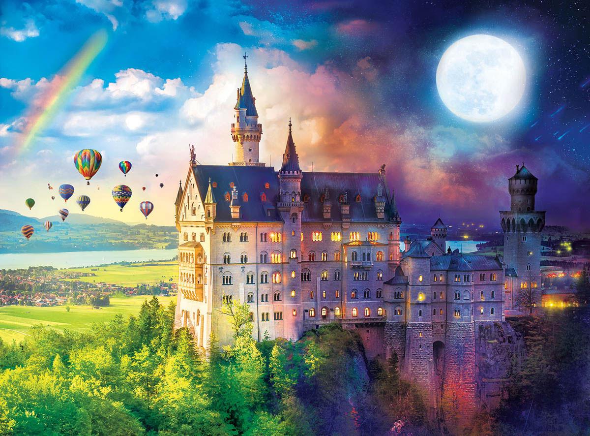 Neuschwanstein Dreams Castles Jigsaw Puzzle