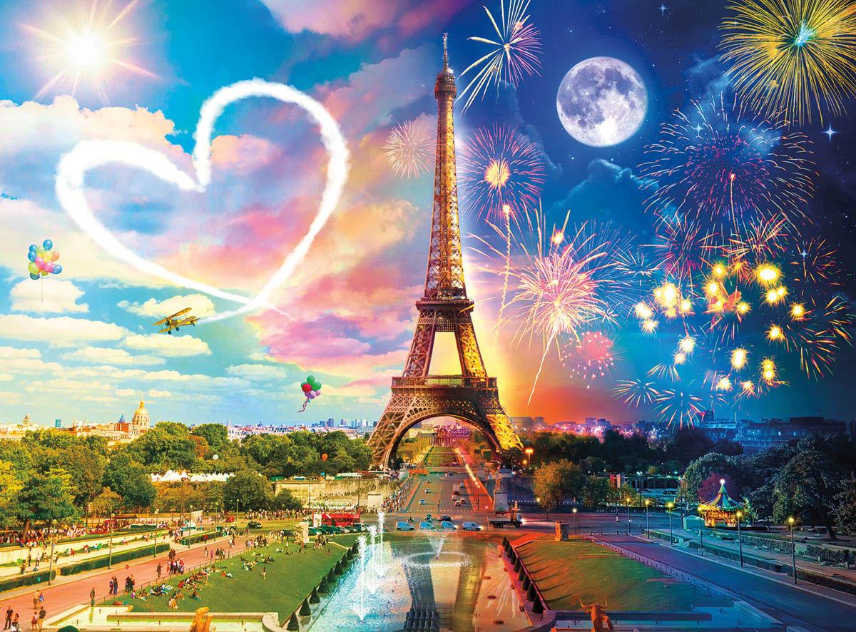Paris Love Paris Jigsaw Puzzle