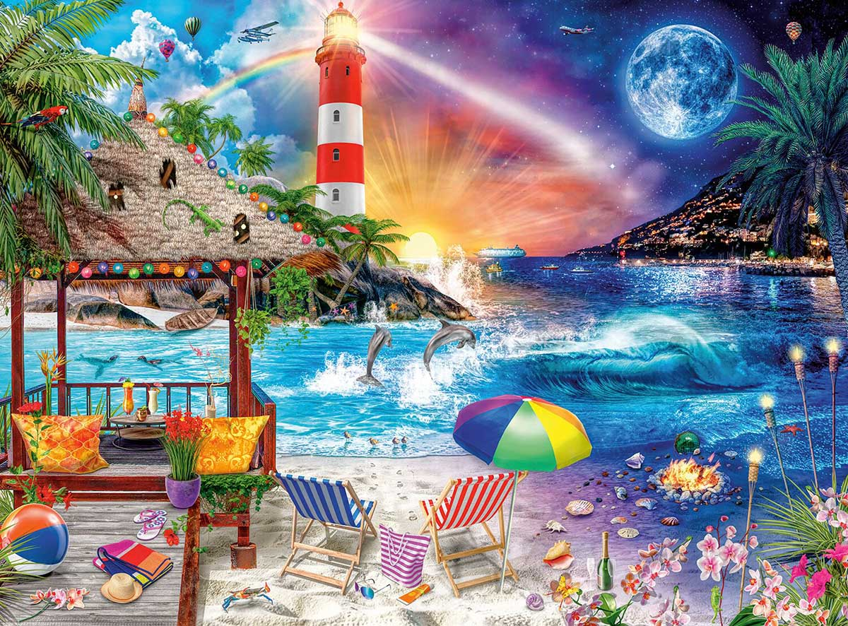 Life's a Beach Beach Jigsaw Puzzle