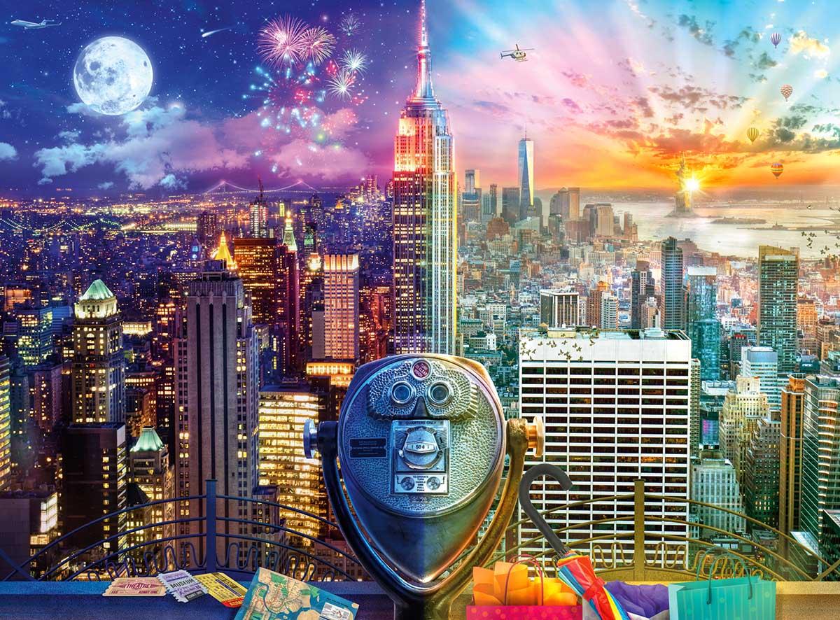 Manhattan Skyline Skyline / Cityscape Jigsaw Puzzle