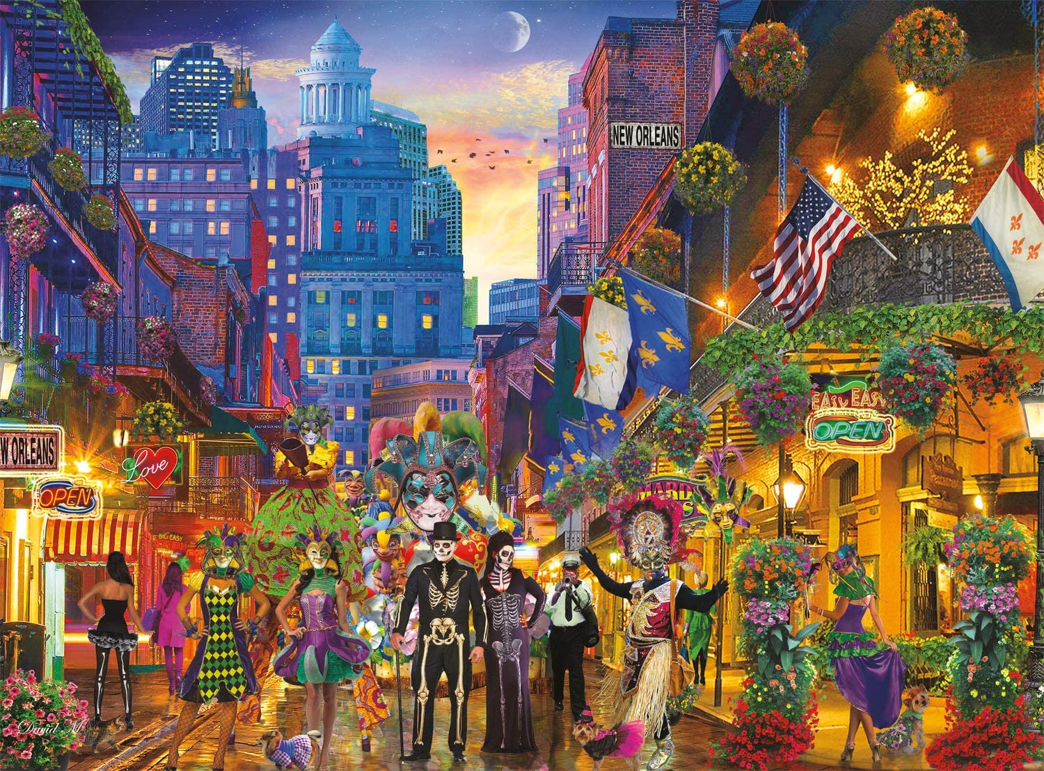 The Big Easy, New Orleans Cities Jigsaw Puzzle