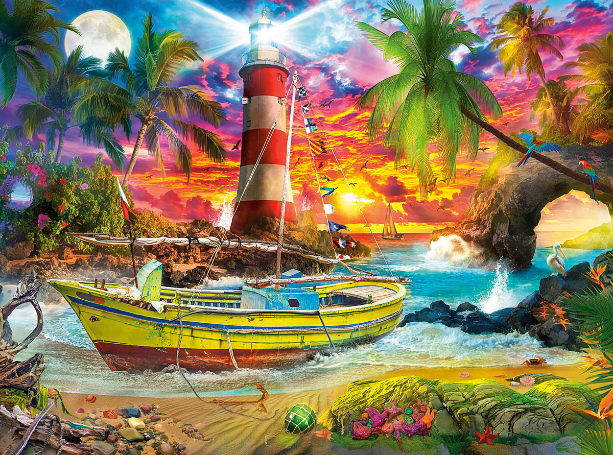 Hope Cove Under The Sea Jigsaw Puzzle