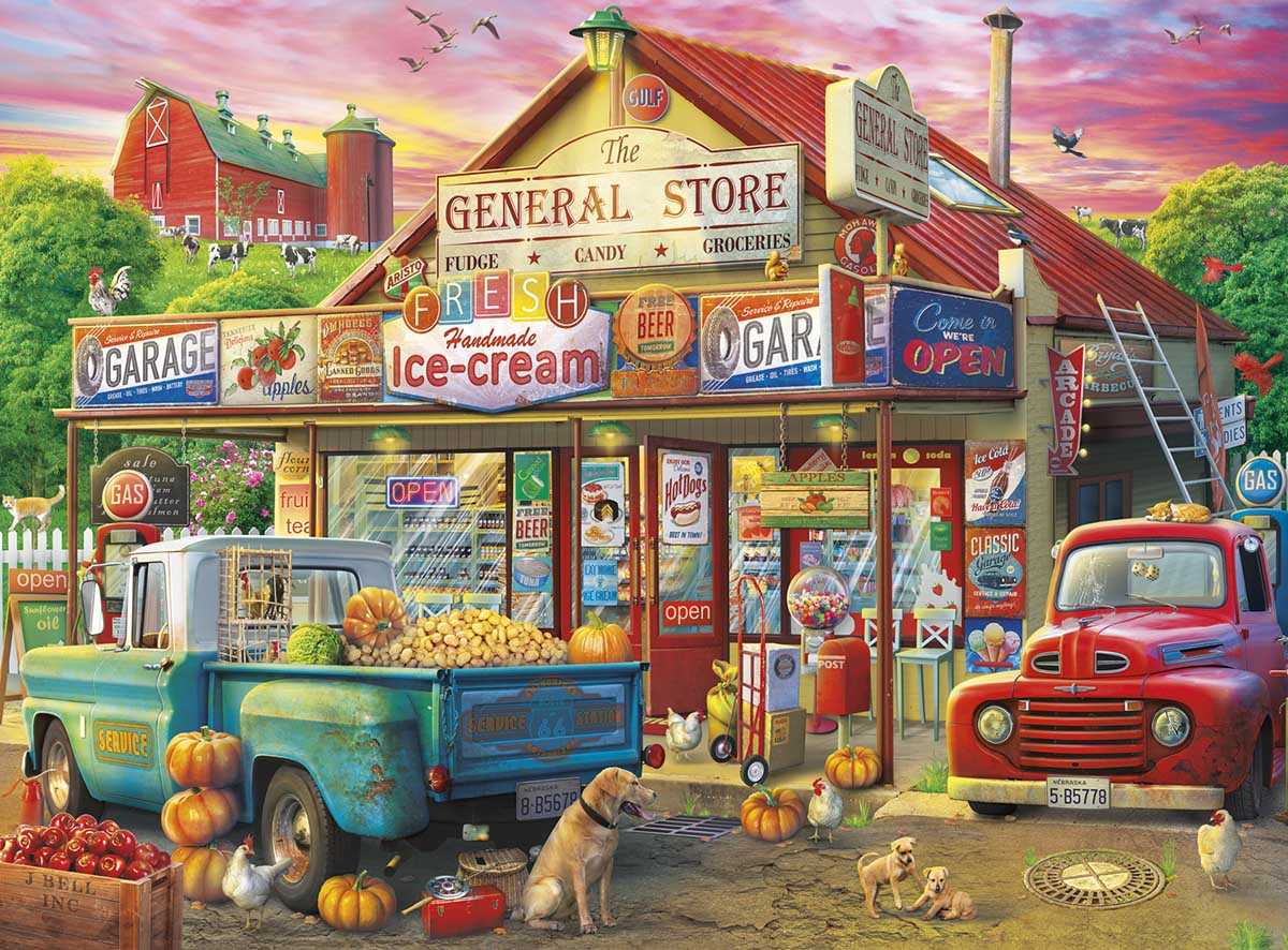 Country Store Father's Day Jigsaw Puzzle