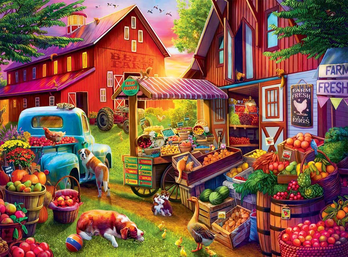 Bells Farm Farm Jigsaw Puzzle