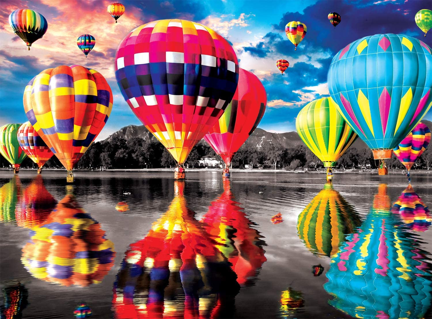 Balloon Dream Balloons Jigsaw Puzzle