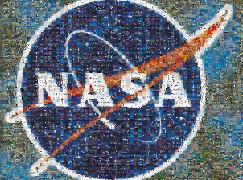 NASA Photomosaic Space Jigsaw Puzzle