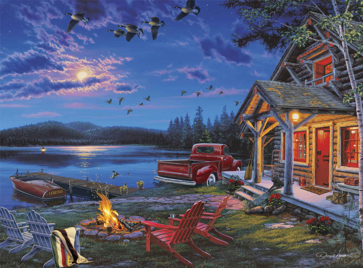 The Perfect Getaway Outdoors Jigsaw Puzzle