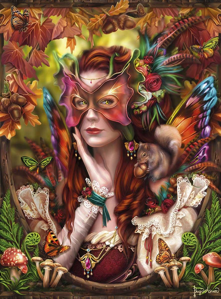 Autumn Queen Animals Jigsaw Puzzle