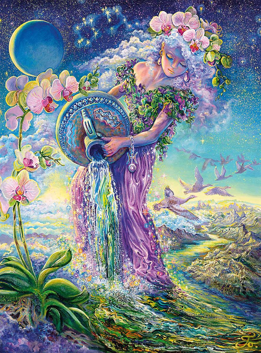 Aquarius Glitter / Shimmer / Foil Puzzles