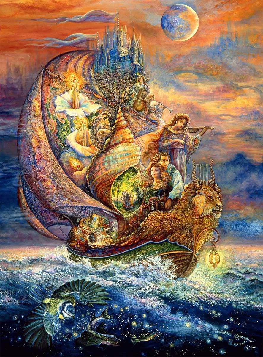 Voyage to Murllis Sea Fantasy Glitter / Shimmer / Foil Puzzles