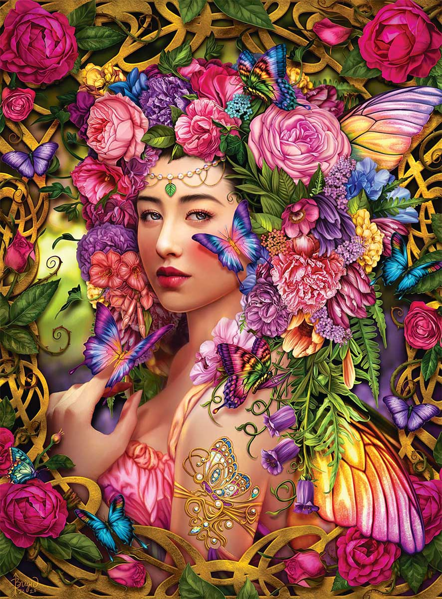 Spring Queen Spring Jigsaw Puzzle
