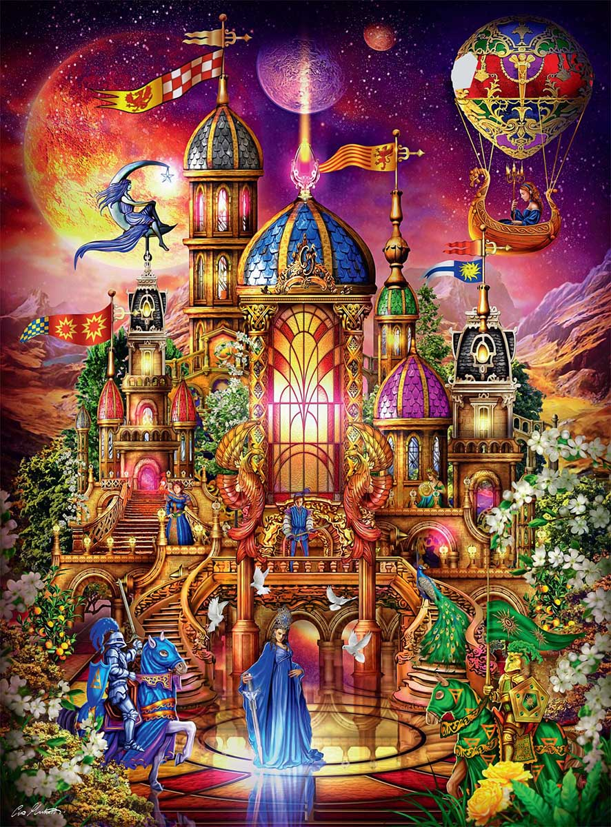 Krystol's Palace Castles Jigsaw Puzzle