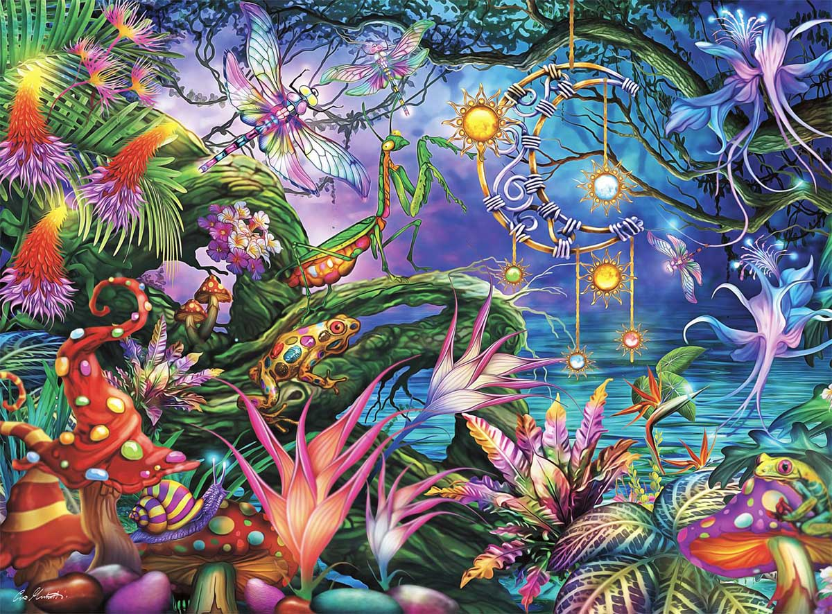 Fairy Forest Forest Jigsaw Puzzle