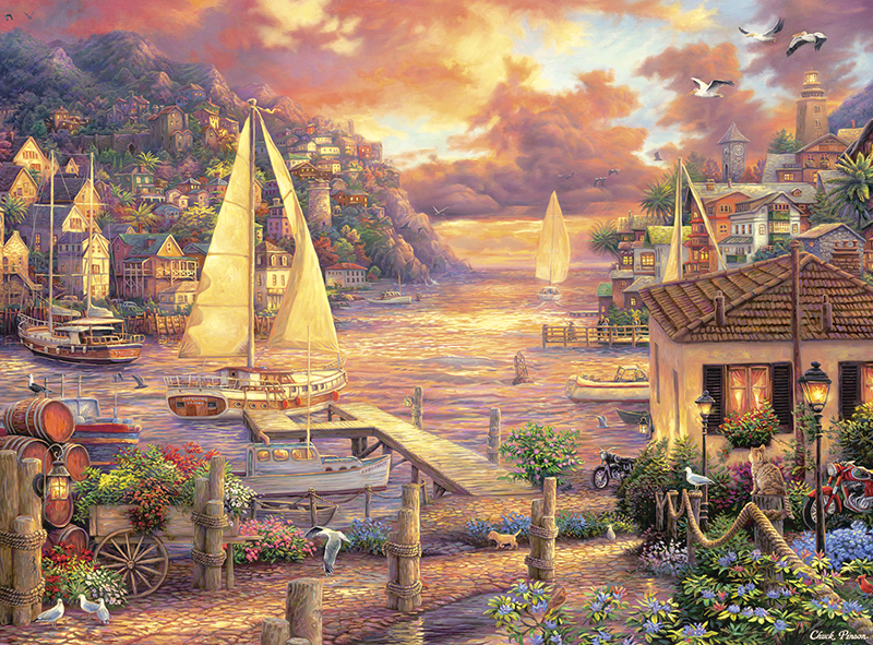 Catching Dreams Seascape / Coastal Living Jigsaw Puzzle