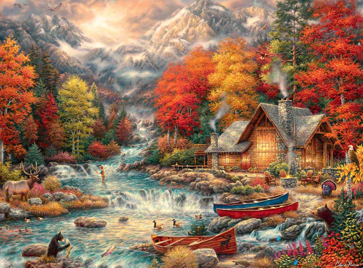 Treasures of the Great Outdoors Mountains Hidden Images
