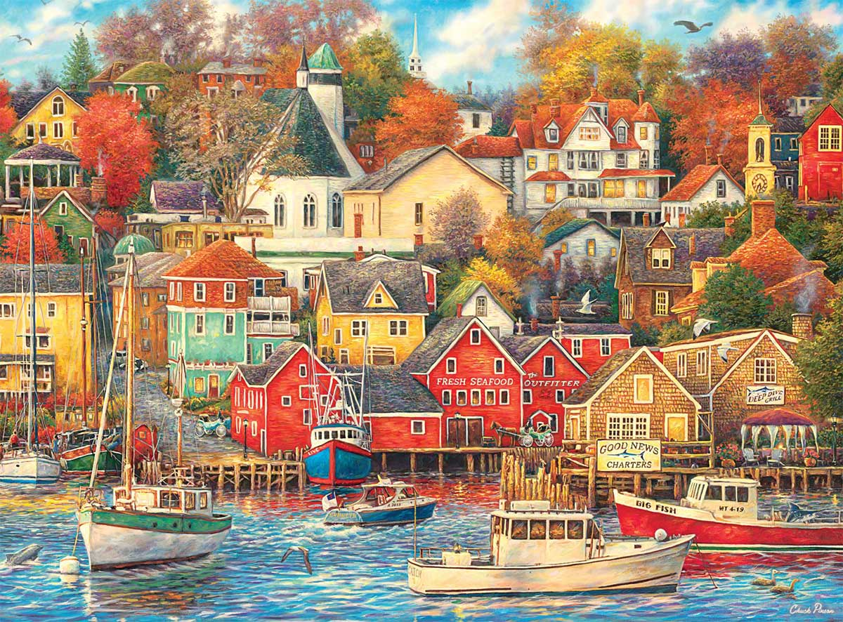 Good Times Harbor Lakes / Rivers / Streams Jigsaw Puzzle