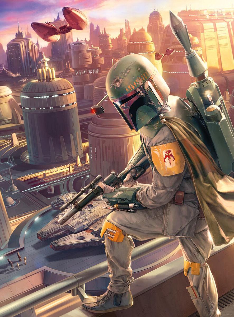Star Wars™ Fine Art Collection - Boba Fett Star Wars Jigsaw Puzzle