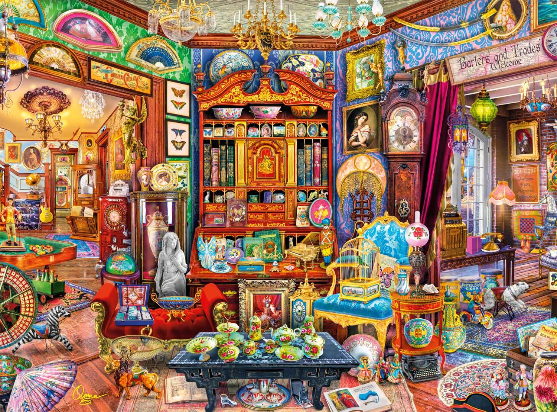 Curiosity Shop Nostalgic / Retro Jigsaw Puzzle