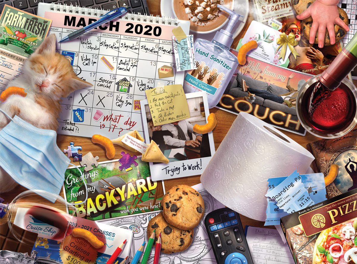 Going No Places 2020 Travel Jigsaw Puzzle