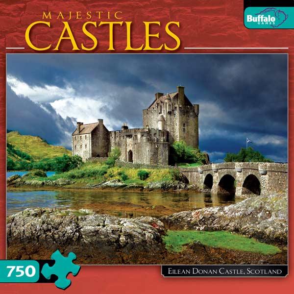 Eilean Donan Castle, Scotland Bridges Jigsaw Puzzle